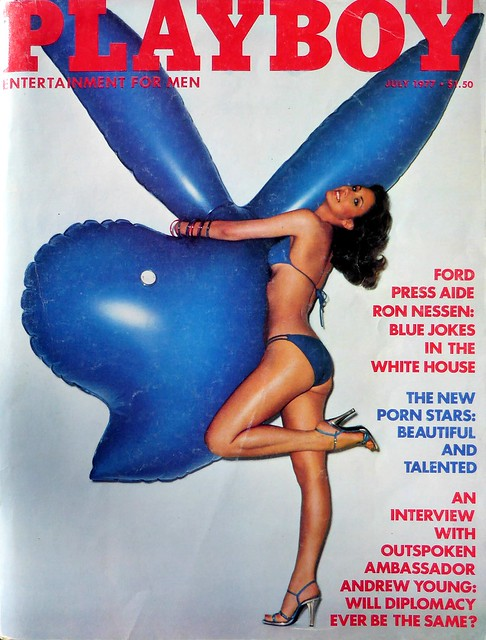 Playboy 1977 July - Pamela Serpe