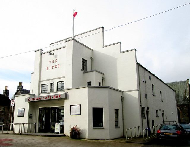 The Birks Cinema, Aberfeldy from Right