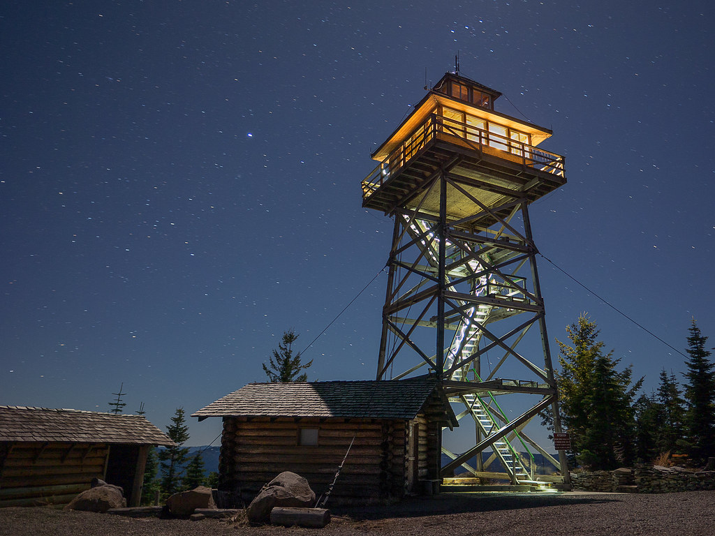 Warner Mountain Lookout