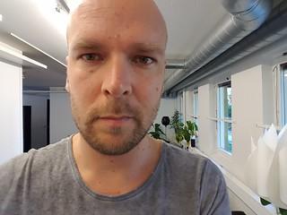 Samsung Galaxy S7 selfie