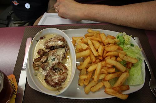 Bert's lunch