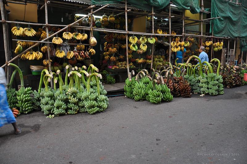 Yangon Banana Stall