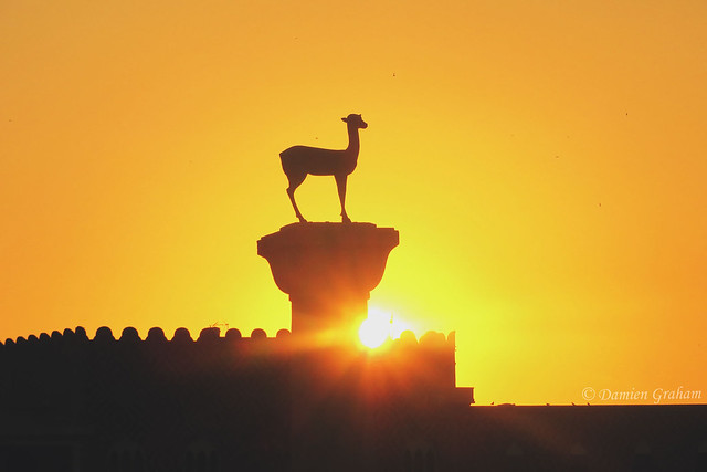 Deer statue in Rhodes