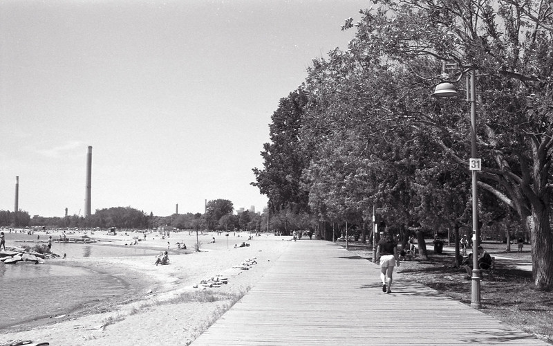On the Boardwalk Towards Woodbine