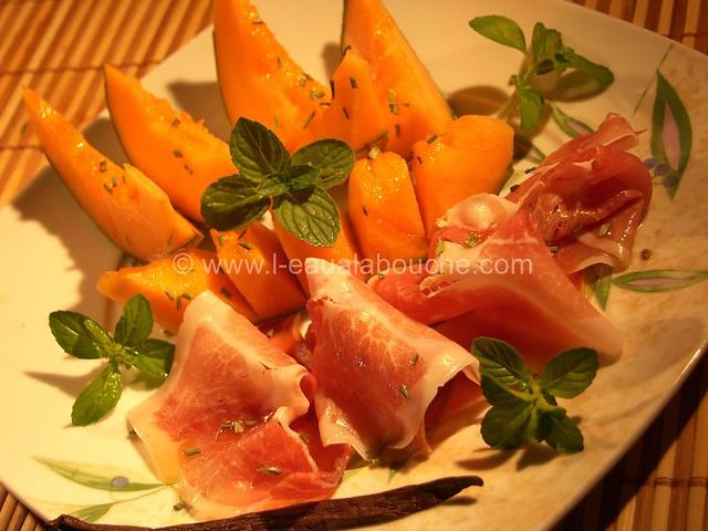 Melon au Jambon © Ana Luthi Tous droits réservés 03