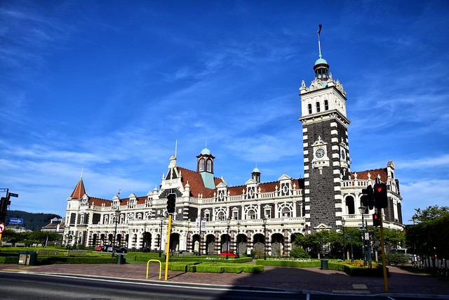 Day 6 - Dunedin Railway Station