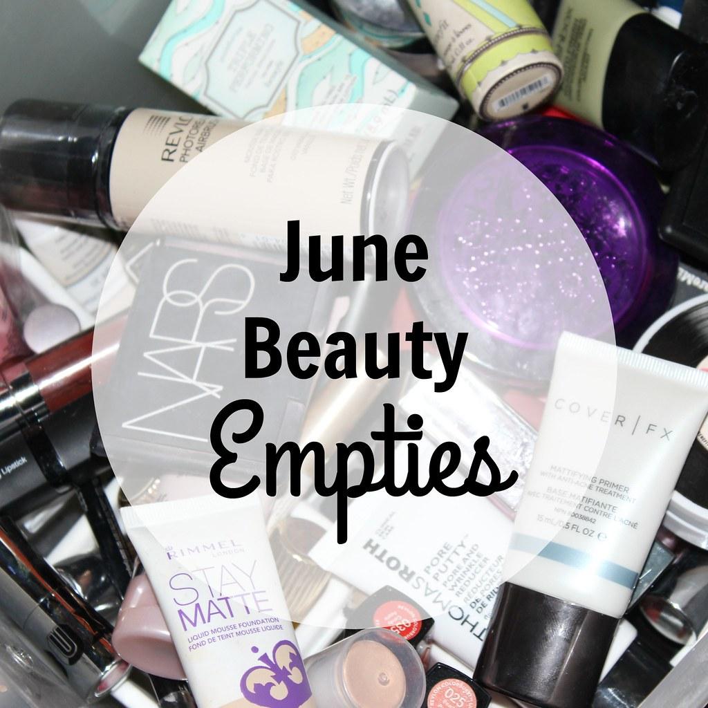June Beauty Empties 1