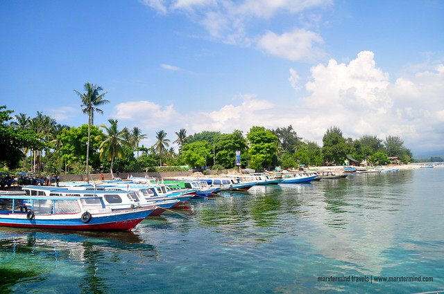 Port in Gili Air