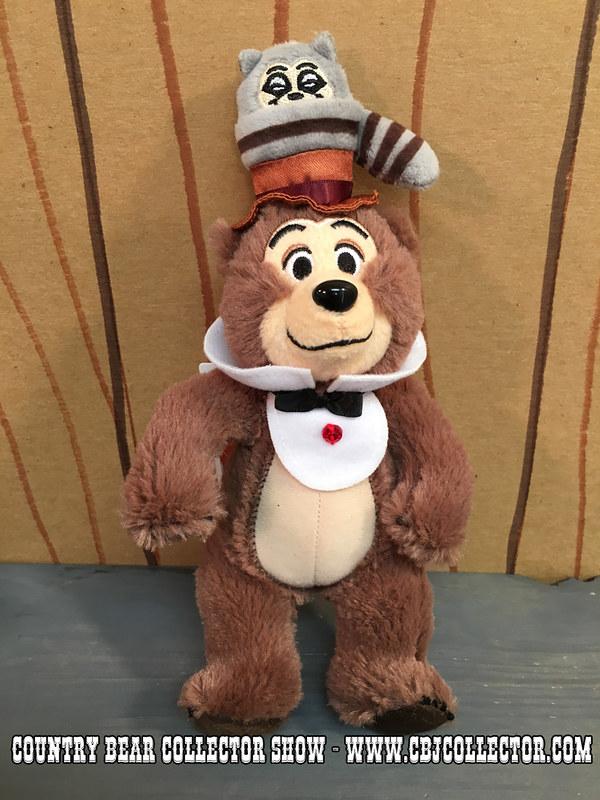 2016 Tokyo Disneyland 33rd Anniversary Henry Keychain - Country Bear Jamboree Collector Show #048