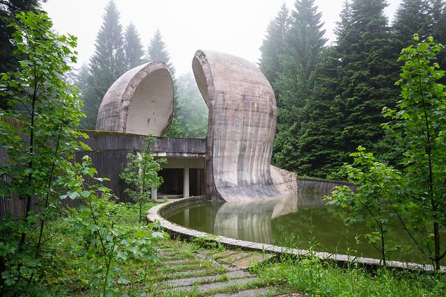 Monument to the Revolution in the Korčanica memorial zone, Grmeč