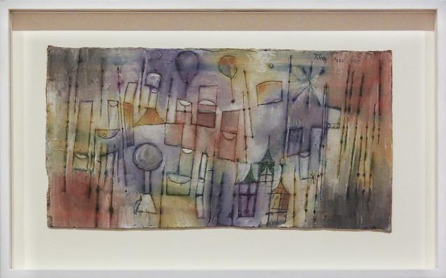 Drei Fenster, Paul Klee 1920