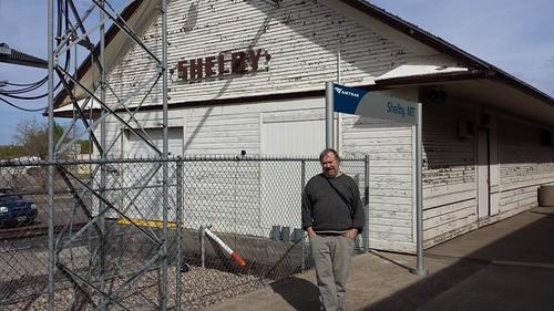 Shelby, Montana depot