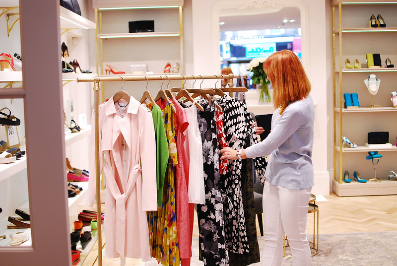 Hobbs SS16 Style Session at London's Kensington High Street hosted by Catherine Summers of Not Dressed As Lamb