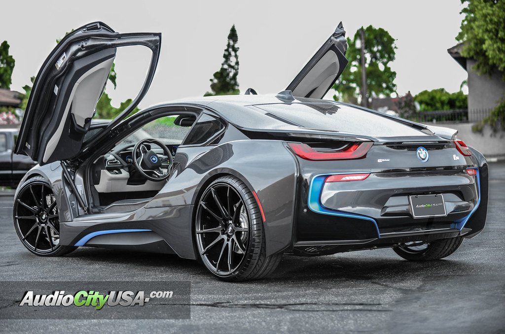 2016 Bmw I8 22 Quot Savini Wheels Bm 12 Matte Black Audiocityusa Bimmerfest Bmw Forums