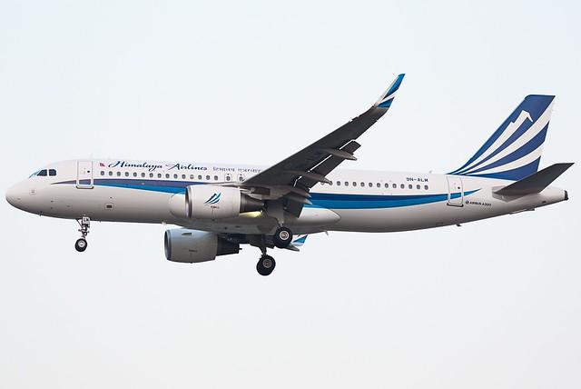 A.320-214 WL C.n 6626 '9N-ALM' Himalaya Airlines