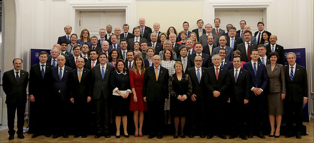 OECD 2016 Ministerial Council Meeting Official Family Photo
