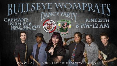 Bullseye Womprats 6-25-16