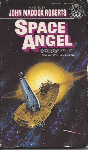 Space Angel - John Maddox Roberts - cover artist Dean Ellis