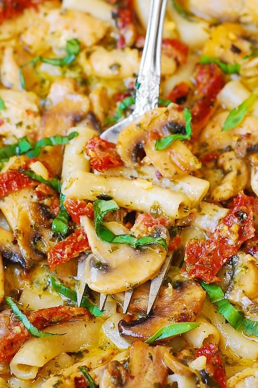 gluten free pasta recipe, gluten free chicken pasta