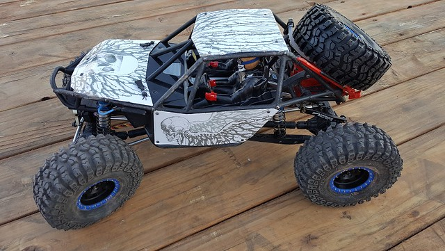 Axial RR10 Bomber Body Graphic Wrap Skin Body Parts