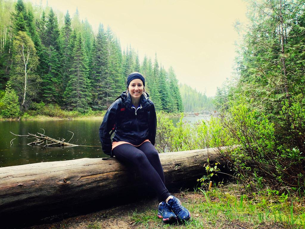 Dans le parc d'Aiguebelle en Abitibi-Témiscamingue