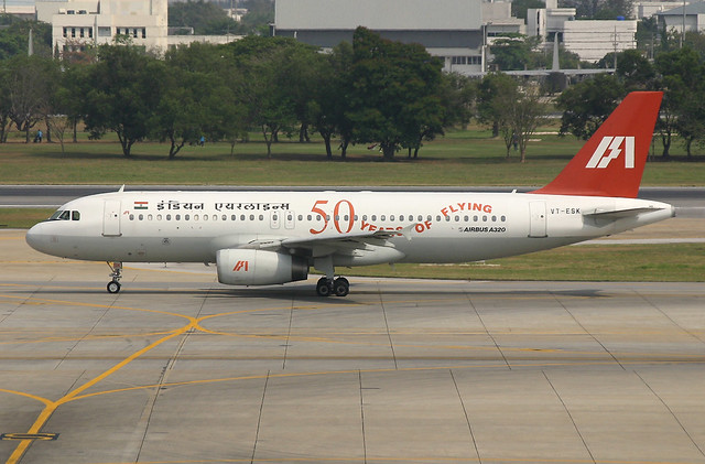 VT-ESK A320 Indian Airlines