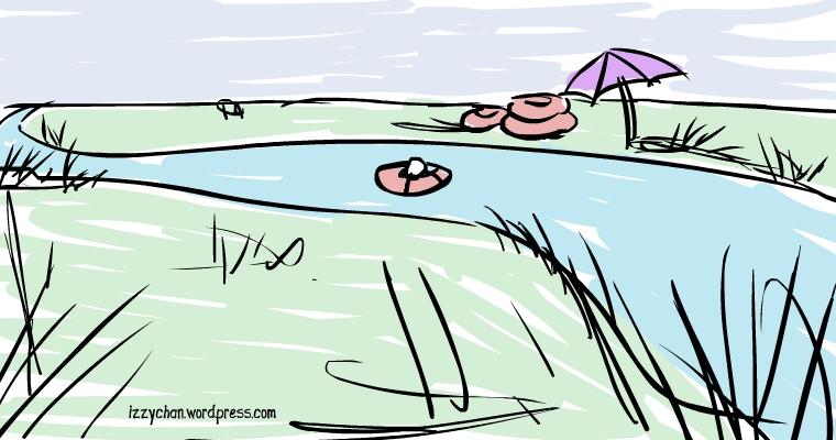 lazy river sketch
