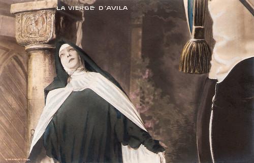 Sarah Bernhardt in La Vierge D'Avila (1906)