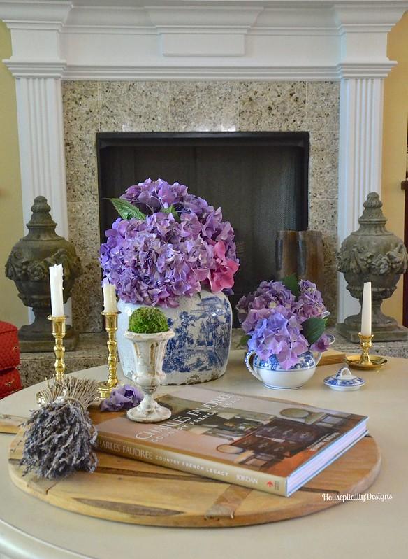 Summer Coffee Table Vignette - Housepitality Designs