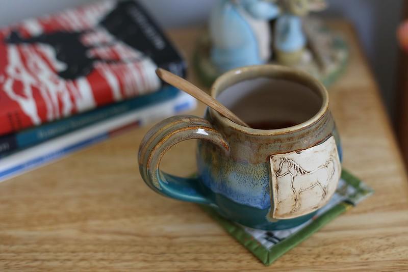 mug rug for K