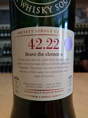 SMWS 42.22 - Brave the elements