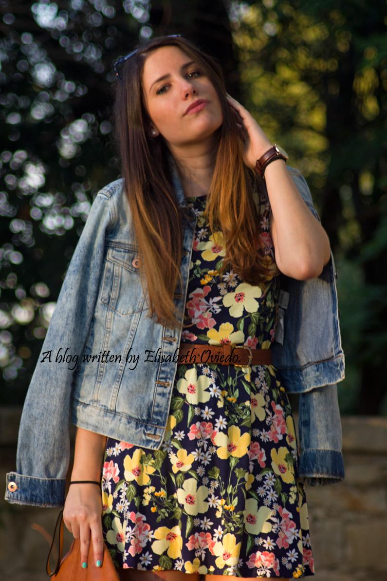 vestido floral chaqueta vaquera denim heelsandroses (6)