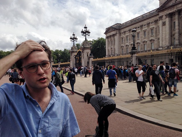 Guion is so over Buckingham Palace