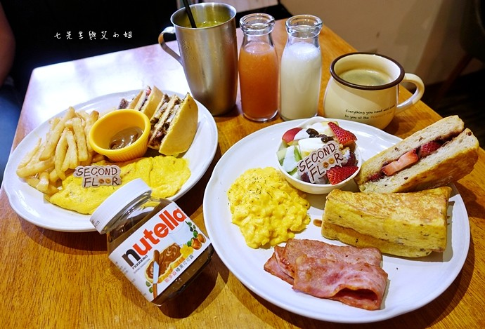 16 貳樓餐廳 Second Floor & Nutella 能多益