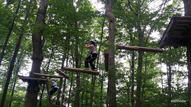treetop trekking Stouffville