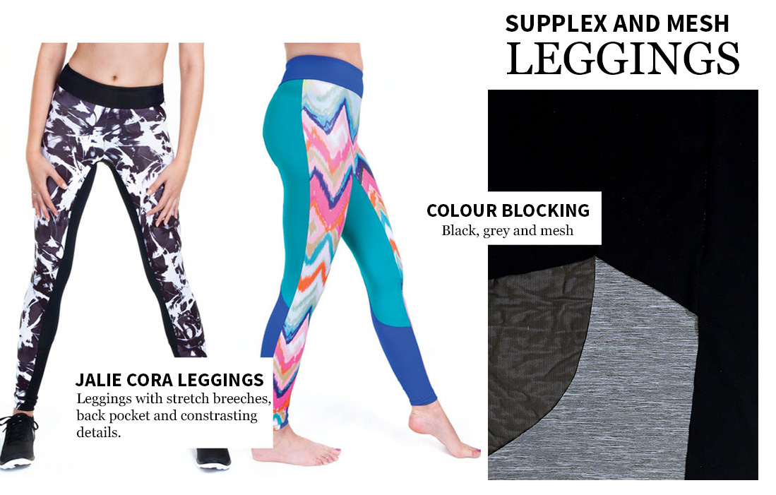 Cora leggins by Jalie Patterns