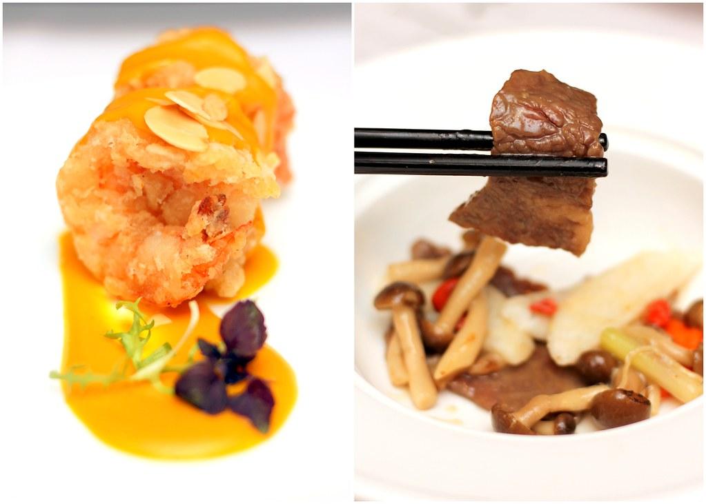 Marriott Hotel Wan Hao Chinese Restaurant Main Dishes