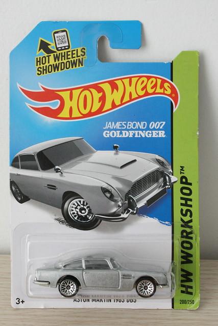 [HotWheels] Aston Martin DB5(1963)