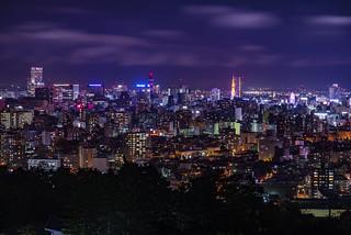 札幌-旭山記念公園夜景02
