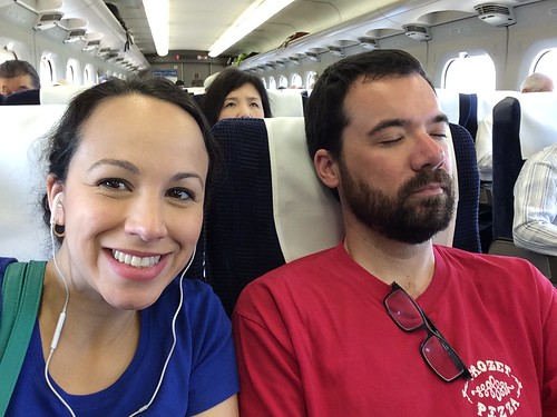 Shinkansen to Tokyo 2016