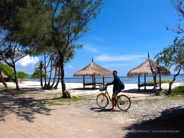 Bicycle in Gili Trawangan