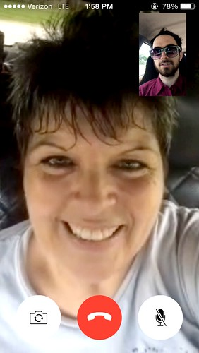 Face Timing Mom (June 25 2015)