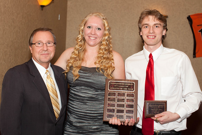 2011-2012 Athletes of the Year: Diane Schuetze and Chas Kok