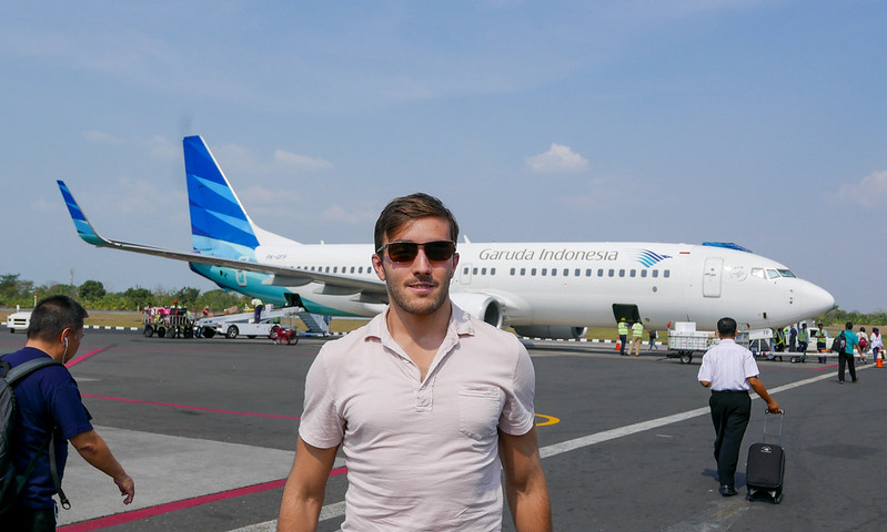 28033100922 70b0a91158 c - REVIEW - Garuda Indonesia : Economy Class - Semarang to Bali (B738)
