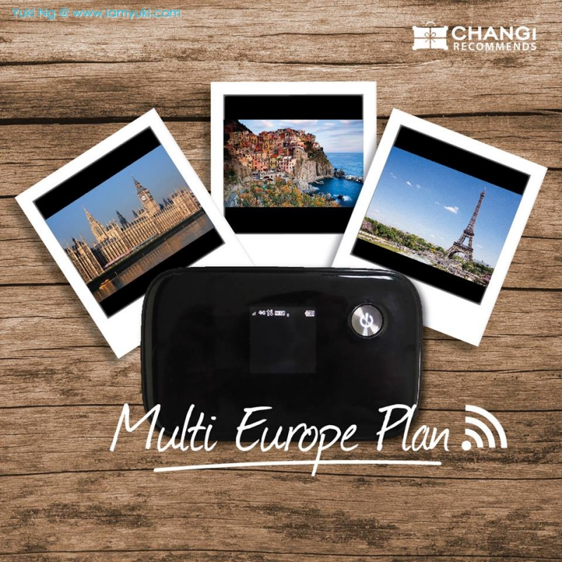 Changi Recomends Wifi multiple europe planYuki Ng Travel Europe