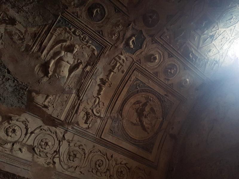 Pompeii ceilings