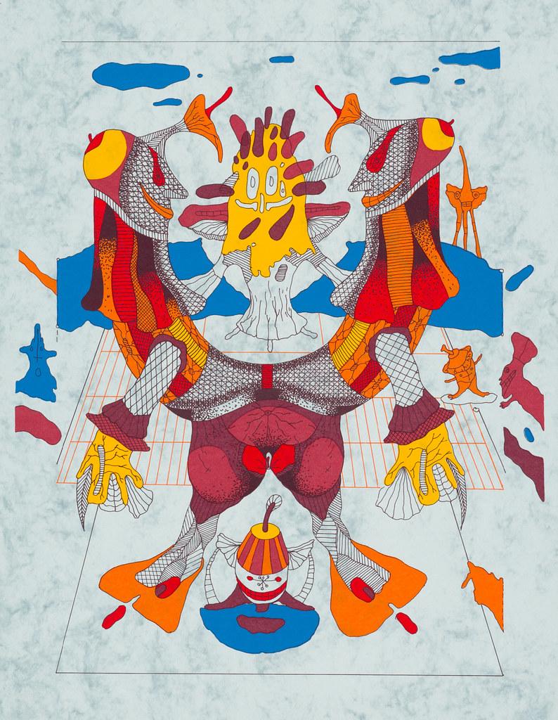 Karol Baron - Bestiary 4, 1997