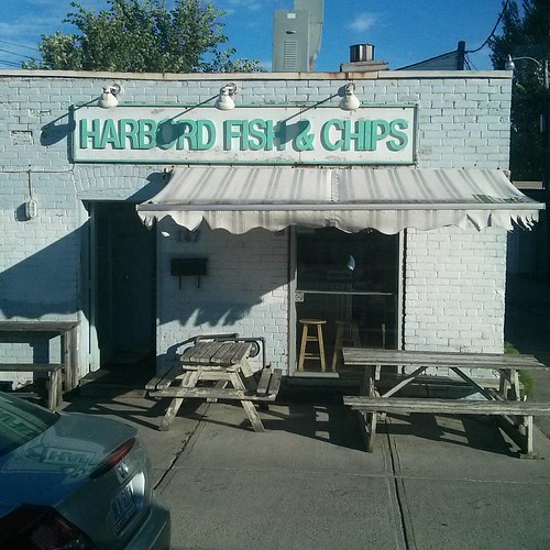 Harbord Fish & Chips #toronto #harbordstreet #restaurants #ttc #94wellesley