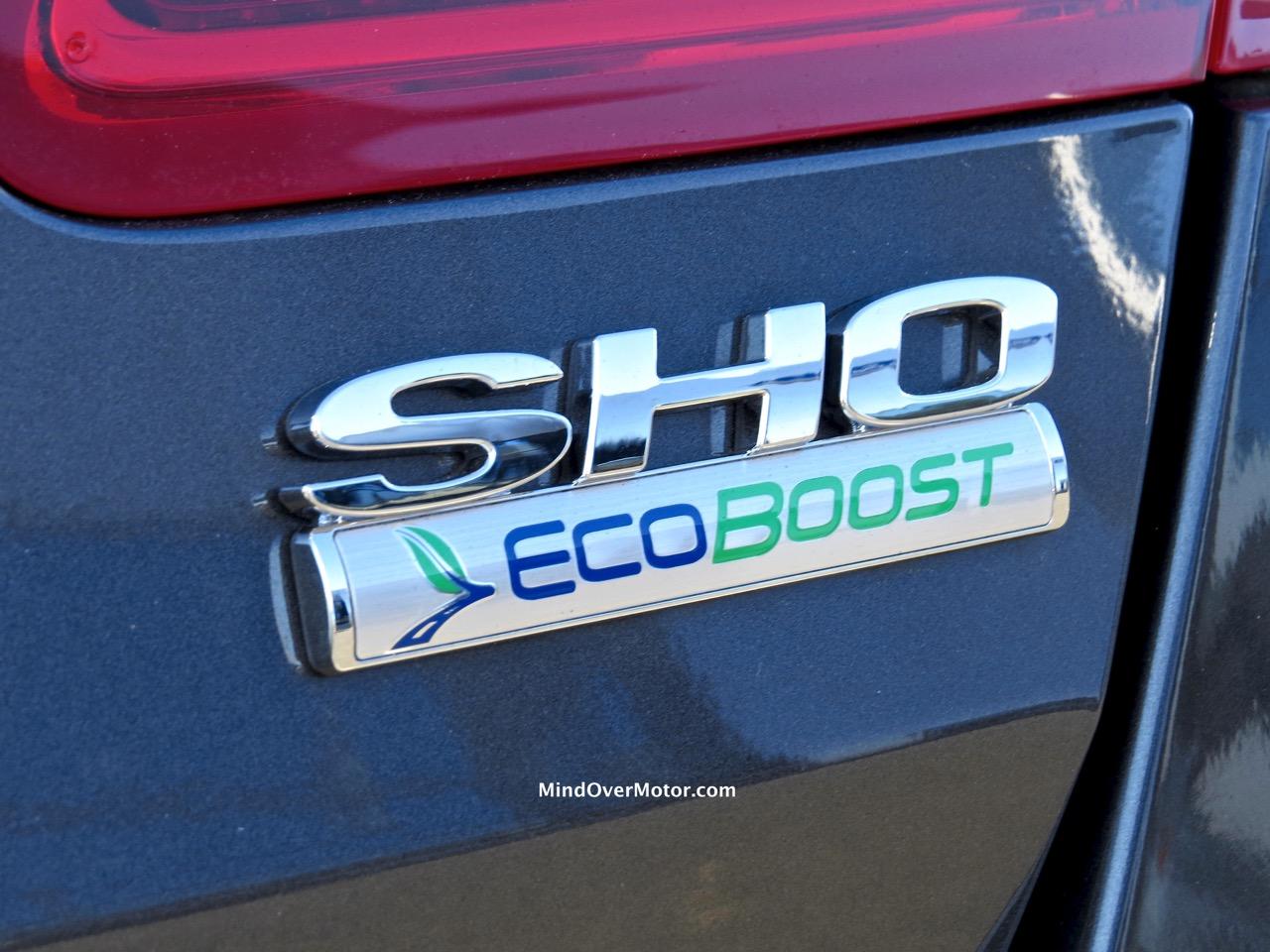 2015 Ford Taurus SHO Badge