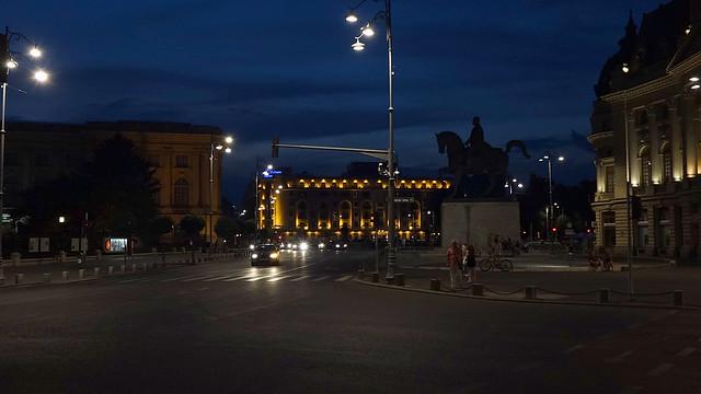 Bukarest: Abendstimmung